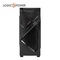 LOGIC POWER Новинка, компьютерный корпус,толщина металла 0.7 мм,USB 3.0, Форм-фактор ATX/MicroATX (Поставки из Украины