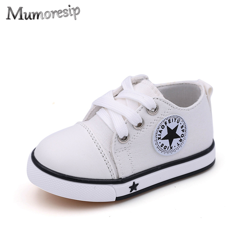New Baby Shoes Breathable Canvas Shoes 1-3 Years Old Boys Shoes 4 Color Comfortable Girls Baby Sneakers Kids Toddler Girl Shoes