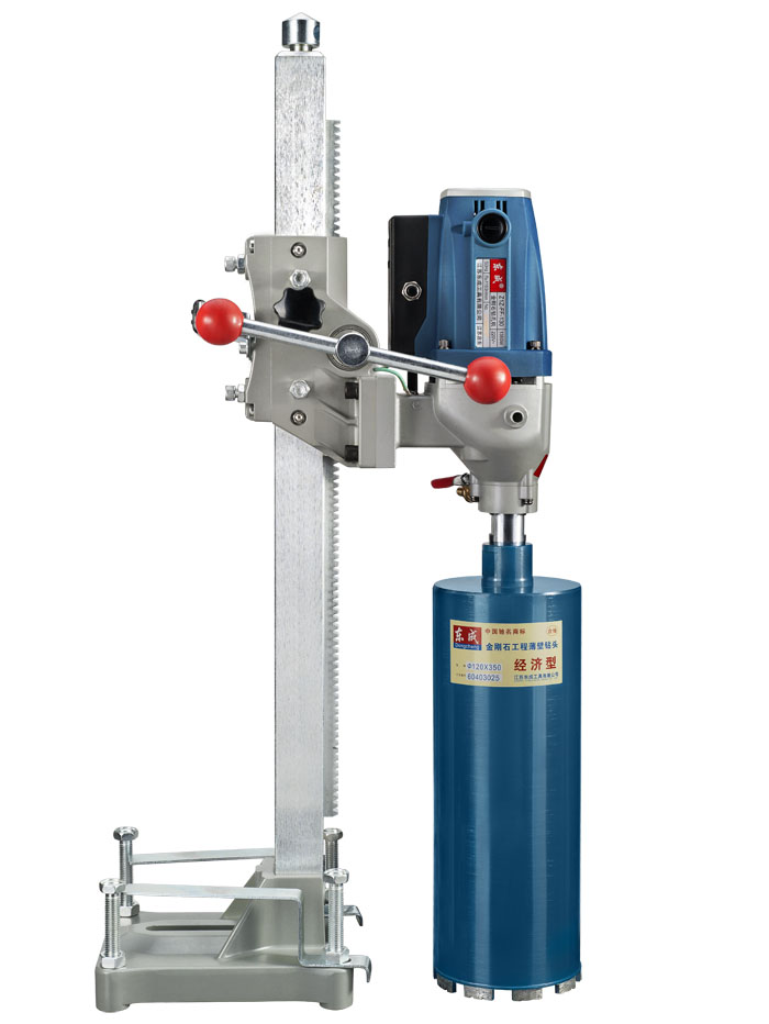Taladro de diamante de 130 mm con fuente de agua (vertical) Taladro de núcleo de diamante de alta potencia de 1800 W Taladro eléctrico (excluir brocas)