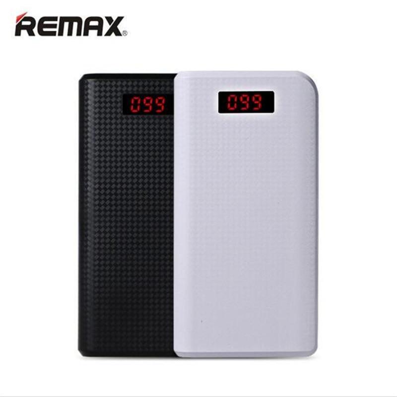 imágenes para Original REMAX 2017 nuevo 30000 mAh Banco de Potencia Dual USB LLEVÓ La Luz Los Teléfonos Móviles Externos Powerbank portátil Para el iphone 6 6 s plus 7