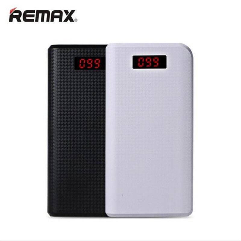 bilder für Ursprüngliche REMAX 2017 neue 30000 mAh Energienbank Dual USB LED Licht tragbare Power Externe Handys Für iphone 6 6 s plus 7