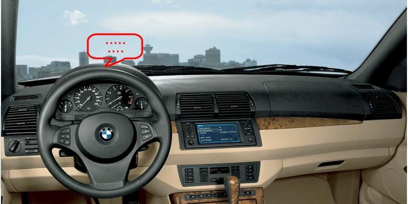 BMW X5 E53 Interior