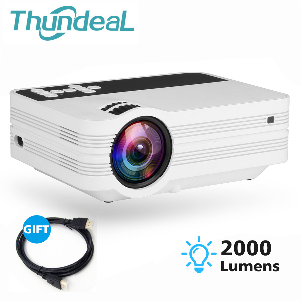 ThundeaL UB10 HD Mini Projector Outdoor Video Cheap Portable Digital Android 6.0 WiFi Projector USB with VGA SD AV Video BeamerThundeaL UB10 HD Mini Projector Outdoor Video Cheap Portable Digital Android 6.0 WiFi Projector USB with VGA SD AV Video Beamer