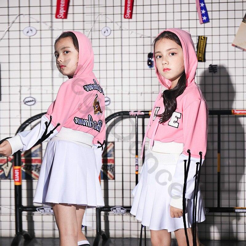 New children's costumes shorts skirts hip-hop jazz dance costumes 100-160cm height