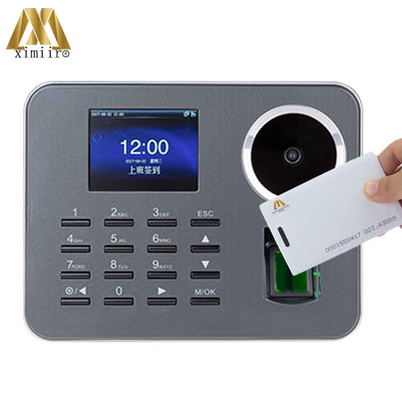 Palm Time Attendance ZK IClock360-P Biometric Time Recorder Fingerprint Employee Attendance With 125KHZ RFID Card Reader