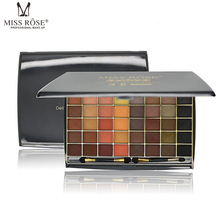 Miss Rose Cosmetic Brand New 48 Colors Eyeshadow Palette Matte Earth Color Eye Shadow Makeup Professional For Women With Brush