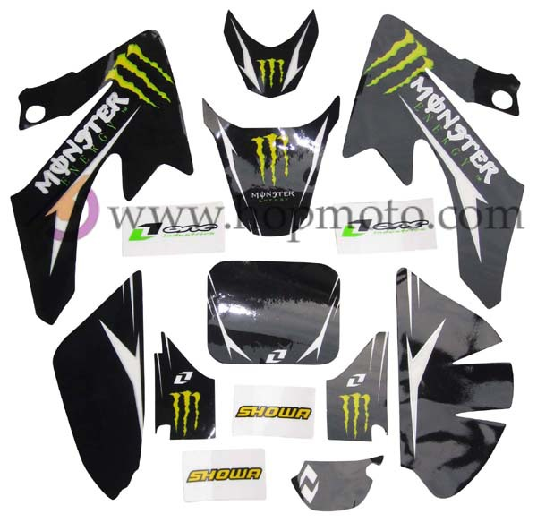 Online Get Cheap Bikes Graphics Aliexpresscom Alibaba Group - Decal graphics for dirt bikes