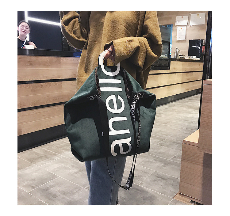 HTB1 O3zhVzqK1RjSZFoq6zfcXXaK - New Large-capacity Velvet Handbag Fashion Lady Letter Shoulder Crossbody Bag High Quality Women's Shopping Bag Tote