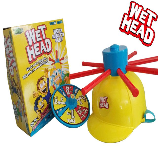 Wet Head Hat Water Game Challenge Fun Kids Challenge Hat Outdoor Toy 20.5*11*25 CM for children Free shipping Dianxia