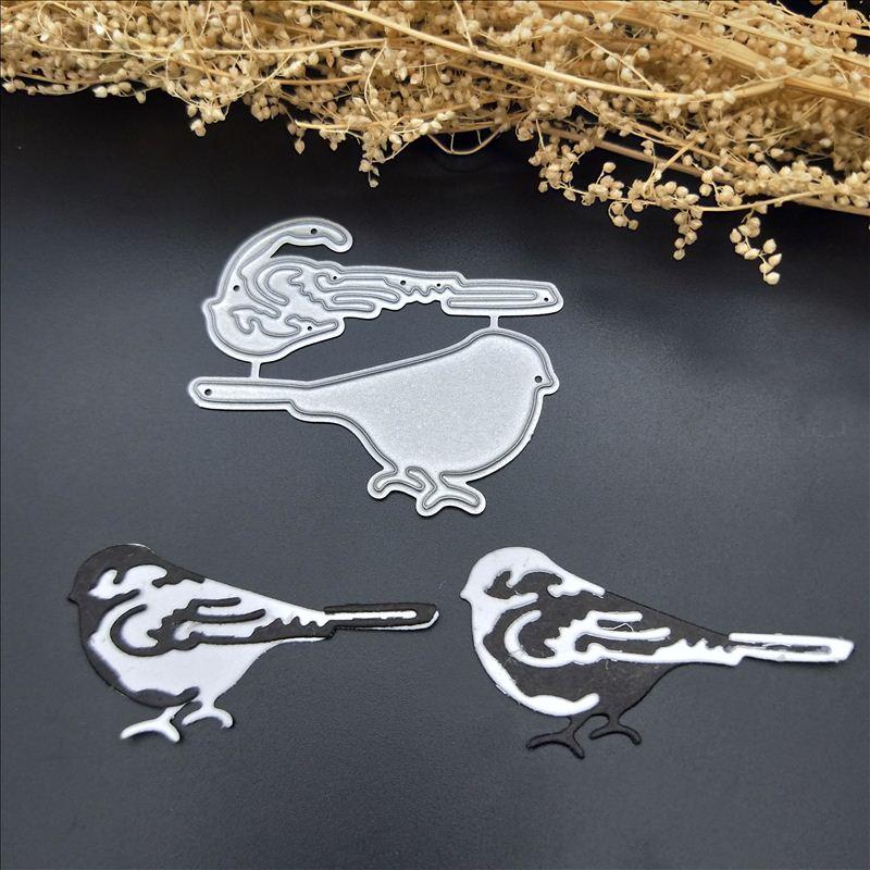 Round Birds Metal Cutting Dies Stencils Scrapbook Die Cut Paper Card Handmade