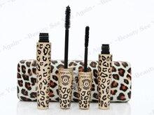 Love alpha leopard Brand Mascara Lengthening Makeup mascara 3D Fiber Eyelash Extension Mascara with box