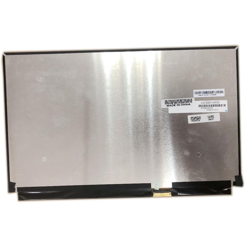 LED LCD Screen Exact 3840X2160 EDP Slim Display UHD LQ125D1JW33 4K 12.5LED LCD Screen Exact 3840X2160 EDP Slim Display UHD LQ125D1JW33 4K 12.5
