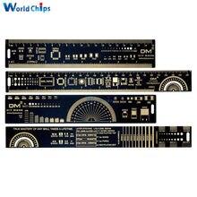 15cm 20cm 25cm multifuncional PCB herramienta de medir, regla Chip de condensador de resistencia IC SMD Transistor de diodo paquete electrónico Stock