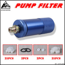 High pressure PCP hand pump air filter Oil-water Separator For High Pressure pcp 4500psi 30mpa 300bar Air Pump filter compressor