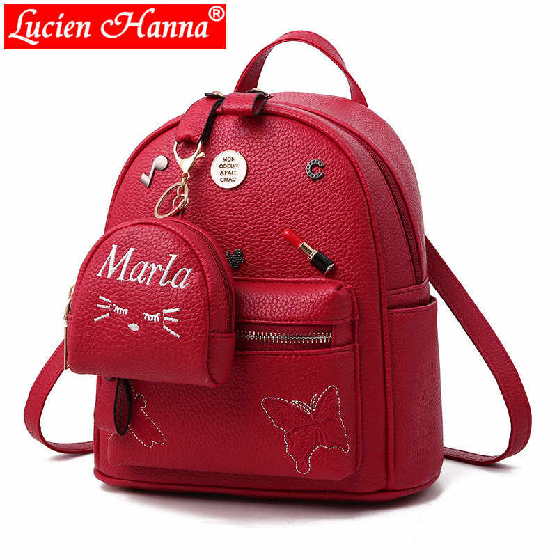 ... Preppy Style Mini Women Backpack Leather Lady Fashion Backbags Cute Red  School Bags Backpacks For Teenager. RELATED PRODUCTS. Mini Cute Leather  Backpack ... 2585cafcc8120