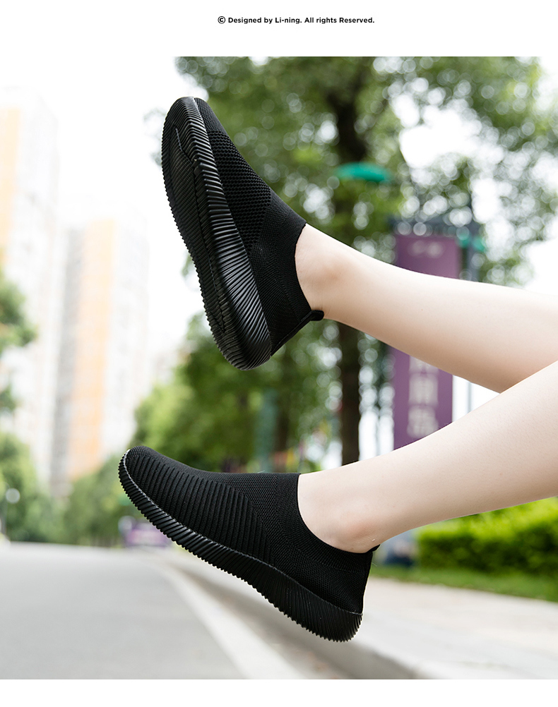 Slip On Flying Knit Women Fashion Sneakers Breathable Flat Heel Casual Shoes Round Toe Low Top Women Shoes XU034 (23)