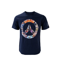 Cosplay Watch Over Tshirt Men's Summer Game Logo Print T shirts Male Casual O neck Short Sleeve Cotton Tops Tee for Men XS XXL