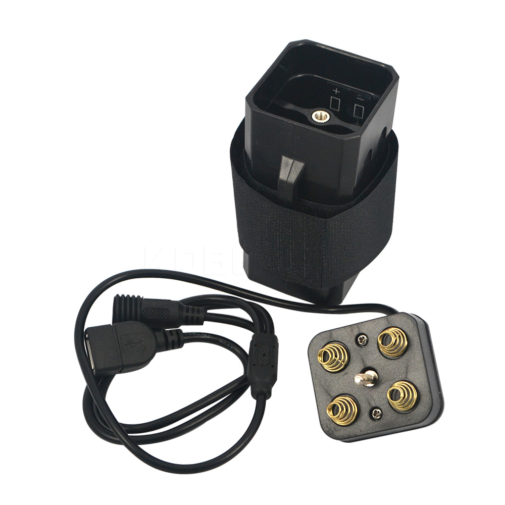2016 Hot Sale Waterproof ABS 18650 Power Battery Storage Pack Case Box