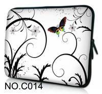 Hot White Butterfly 10 1 11 6 12 13 3 14 15 15 6 Laptop Bag