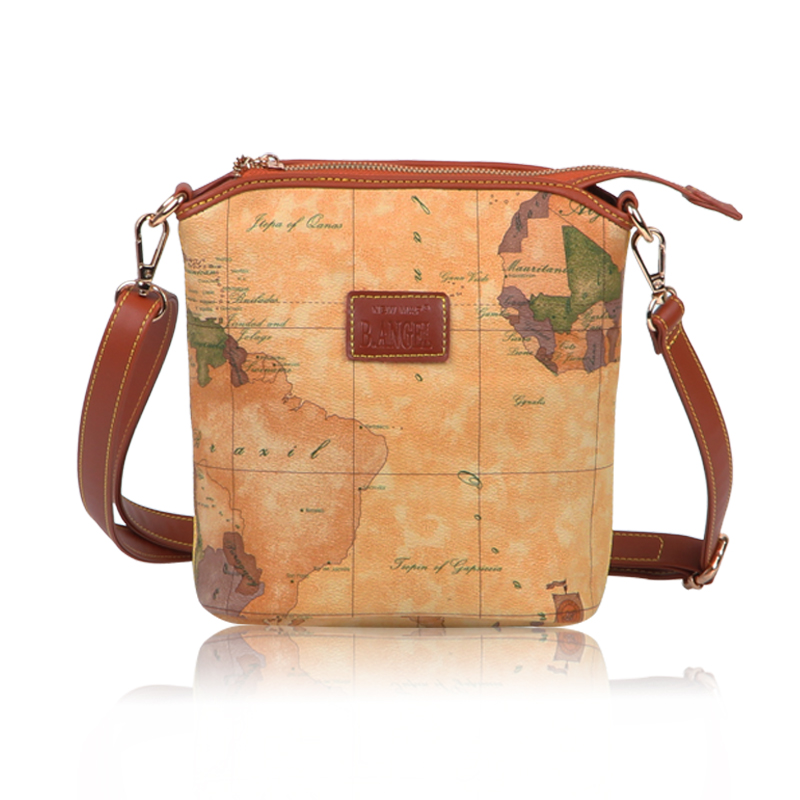 B . fashion vintage ange2015 map pack envelope small bag one shoulder women's cross-body bags 8041 nid d ange брюки stella