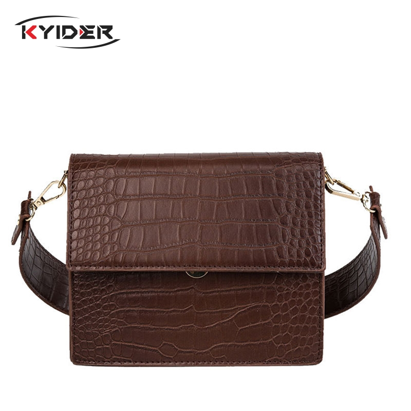 KYIDER Alligator Crossbody Bags for Women 2019 Small Vintage Bags Retro Female Pu Leather Hasp Messenger Bags for Girls/ladiesKYIDER Alligator Crossbody Bags for Women 2019 Small Vintage Bags Retro Female Pu Leather Hasp Messenger Bags for Girls/ladies