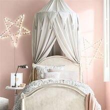 Маленькая детская кровать навес покрывало Москитная кроватка сетка занавеска для детей постельное белье круглая купольная палатка хлопок
