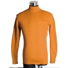 Knitted Long Sleeve Men Mock Neck Sweater BBoy Mocknecks Pullover Jumpers B-Boy Dancing Sweaters Winter Clothing