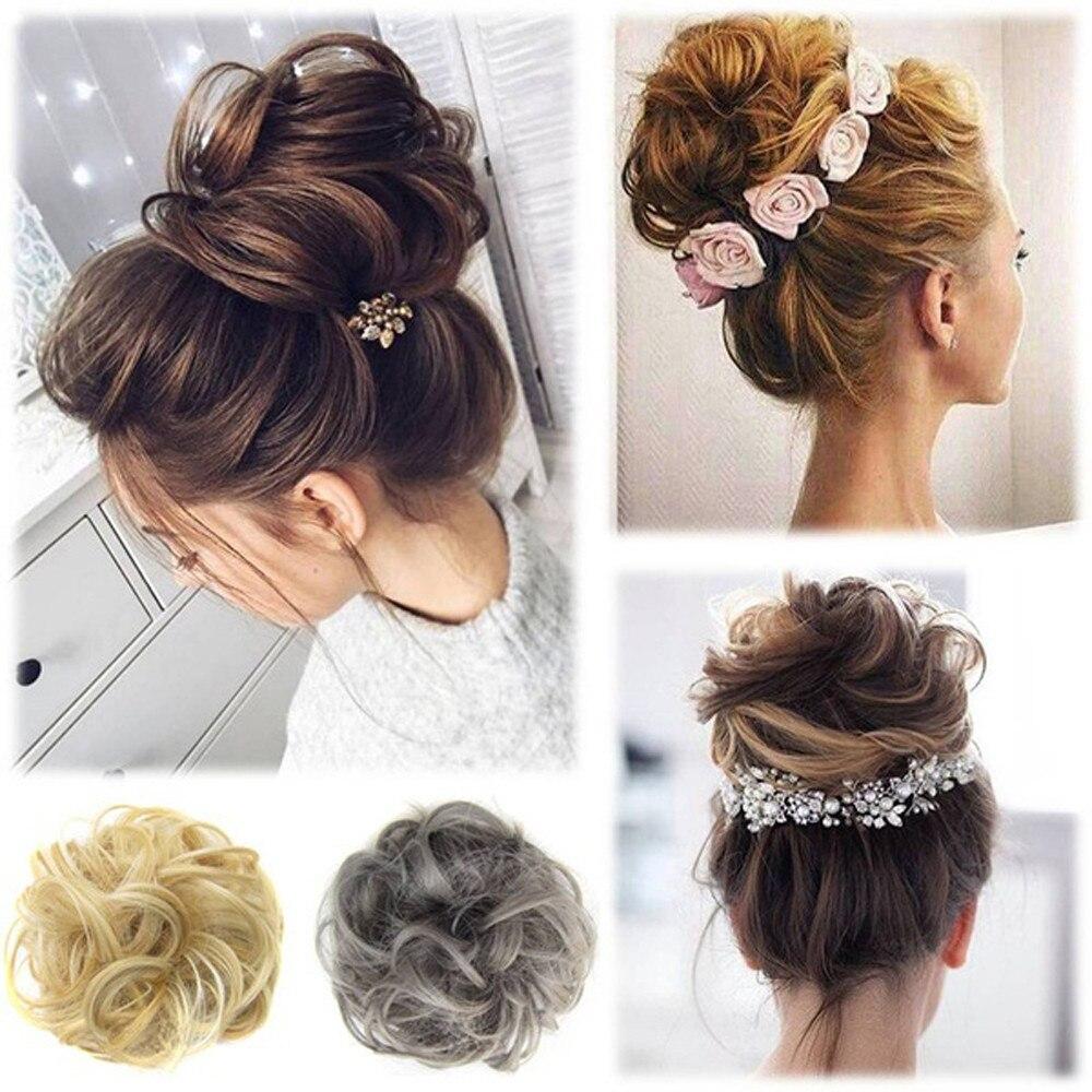 Wig Winding Hair Circle Elastic Hair Bands Bud Head Hair