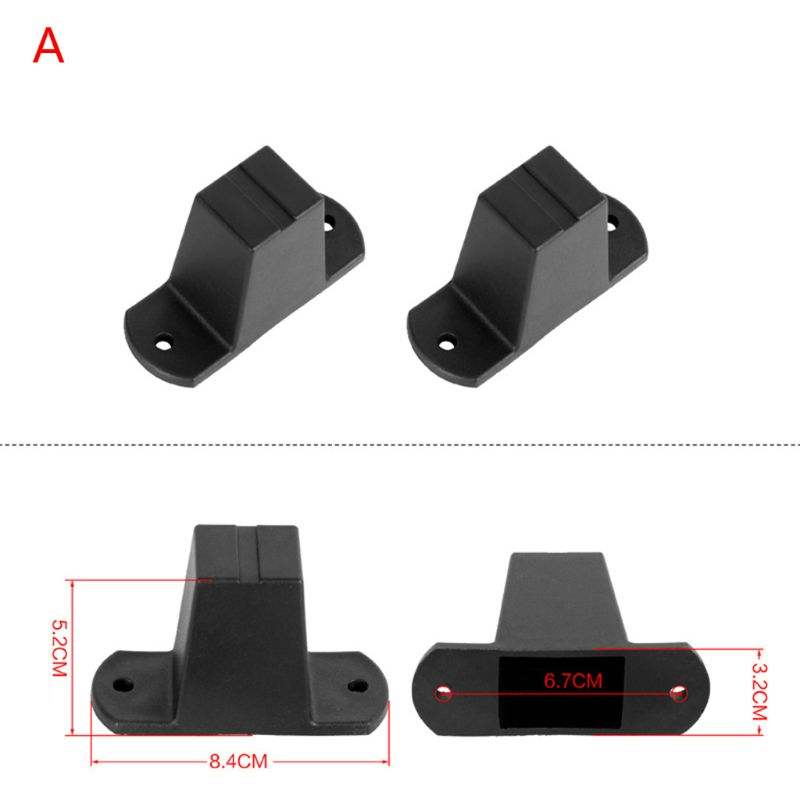 1Pair Replacement Plastic Stud Luggage Feet Pads For Luggage Bags Suitcase Stand Feet Bags Accessories 16 Stlyes
