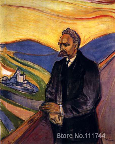 Interesting Modern Art Nietzsche
