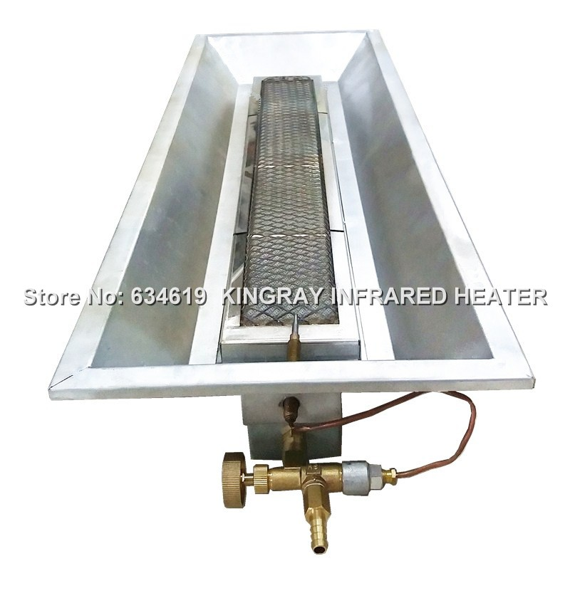 Farm-Raised Manual Ignition Infrared Ceramic Gas Brooder Heater LPG / NG Livestock Heater Poultry Heater