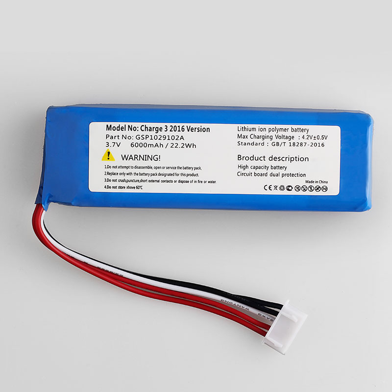 Cameron Sino 6000mAh Battery GSP1029102A(CS JML330SL) for