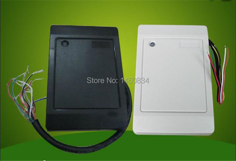 Weigand26 125KHZ Outdoor ID Reader RFID EM Card Reader For Access Control outdoor mf 13 56mhz weigand 26 door access control rfid card reader with two led lights