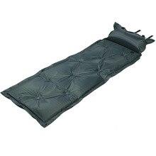 Открытый кемпинг воздуха йога коврик один Ланч пикника отдыха коврик Автоматическая надувная подушка с подушкой AA52040