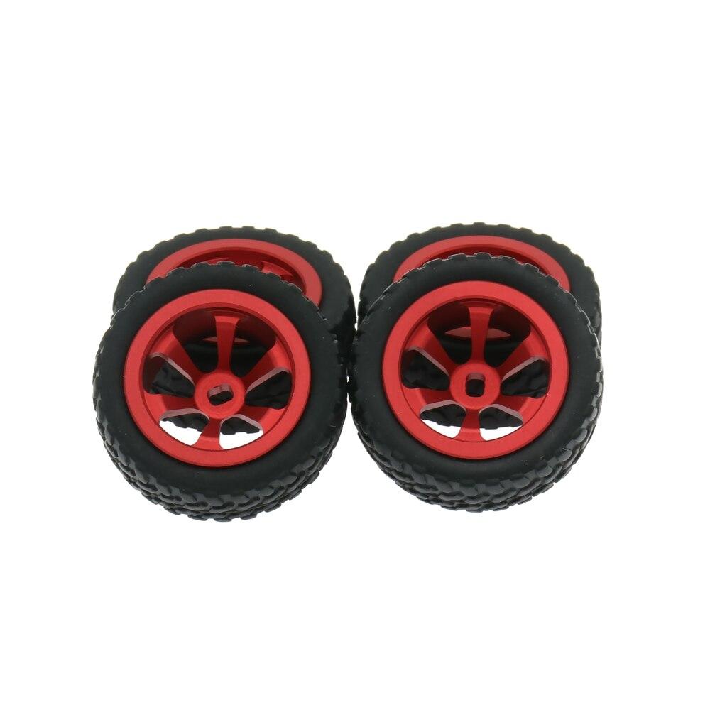 RCAWD Alloy Rim Rally Wheel For Rc Hobby Model Car 1/28 Wltoys K969 K989 P929 Drift Rally Bigfoot Kyosho Mini-Z Mini-Q