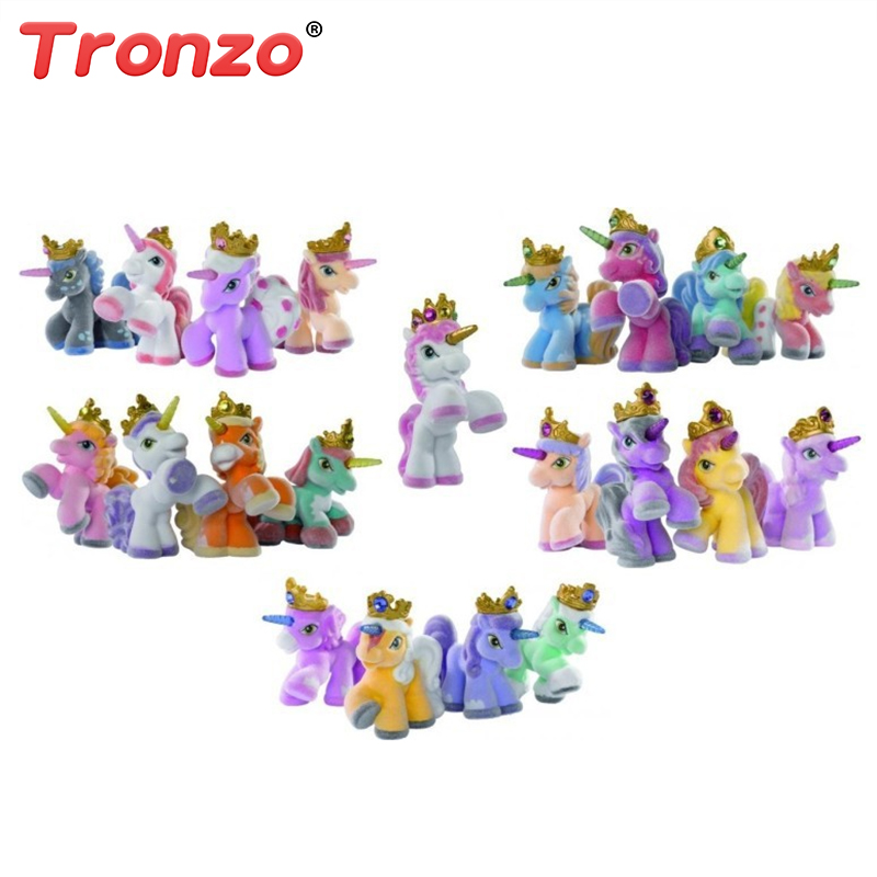 Tronzo 10Pcs/Lot 3cm Simba Filly Little Witchy Unicorn Stars Butterfly Horse Stuffed Animal Doll Toys For Children Dropshipping ailaiki 20pcs lot 3cm simba filly little horse dolls witchy unicorn stars butterfly etc toy mini horses doll kid christmas gift