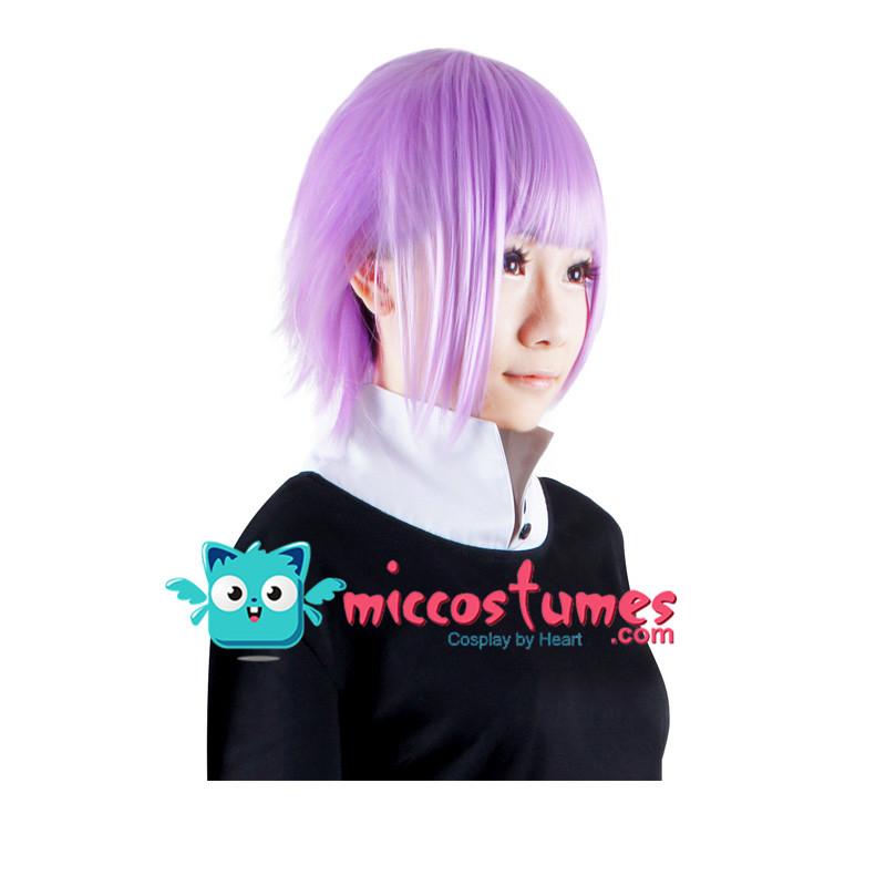 Synthetic Wig Soul Eater Crona Cosplay Wig