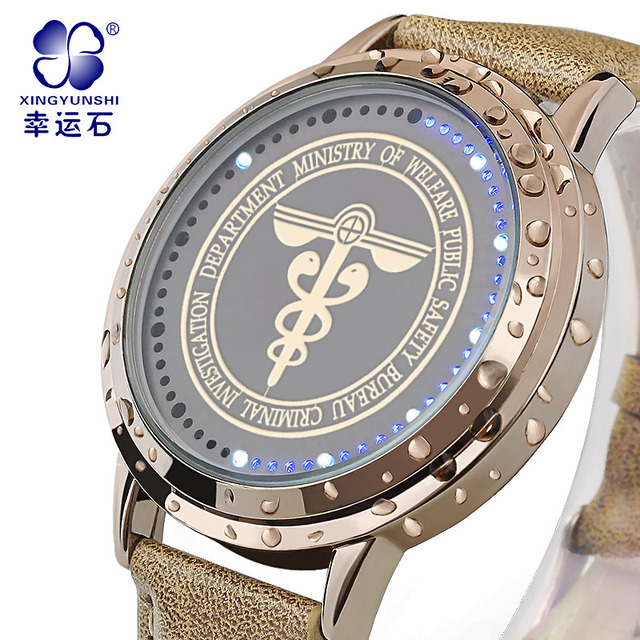 Psychometric watch LED waterproof watch Men Xingyunshi Luxury Brand Casual clock Men's Digital Wristwatches relogio masculino