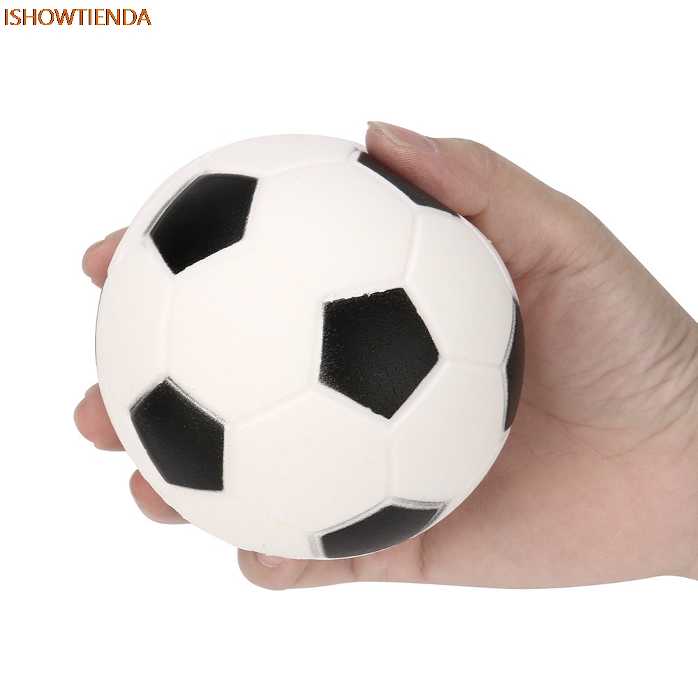 PU Football Squishy Slow Rising Cream Scented Decompression Kid Toys Squeeze Toy Gift Stre