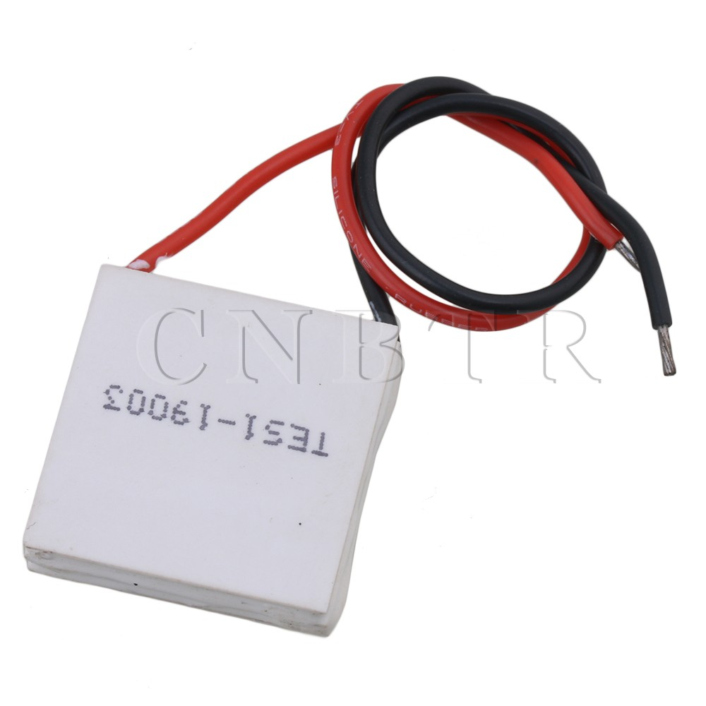 CNBTR TES1-19003 12V 3A 35W White DIY Kit Thermoelectric Peltier Cooler Refrigeration Cooling System Heat Sink Conduction Plate tes ro 18 14 ts 323 35
