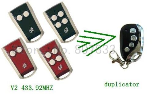 43392mhz Rolling Code Remote Radio Control V2 Transmitter Garage