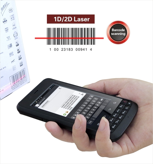 LS388T Rugged Handheld Android Quad-core Industrial PDA with Barcode Scanner,NFC Reader,WIFI,3G,Camera