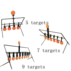 Image 2 - Outdoor Shooting 5/7/9 Reset Target Ring  Paintball AirSoft BB Lead Shooting Target Application Target