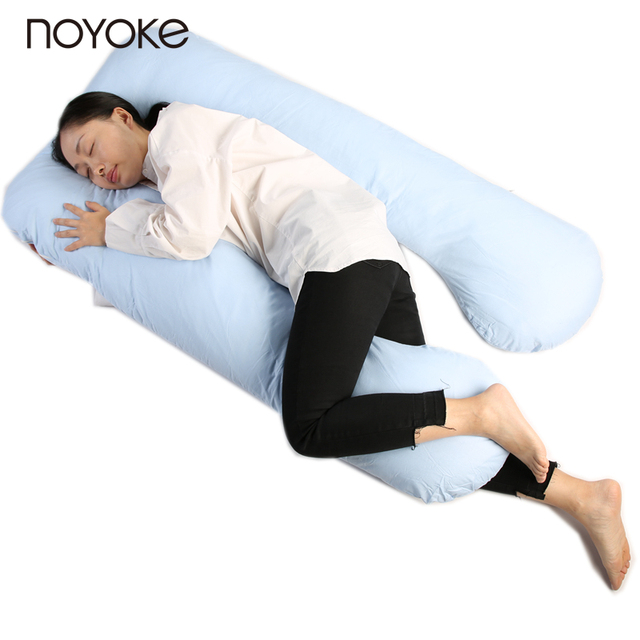 NOYOKE 140*80 CM U Pregnancy Comfortable Pillows Maternity Belt Body Character Pregnancy Pillow Pregnant Side Sleepers