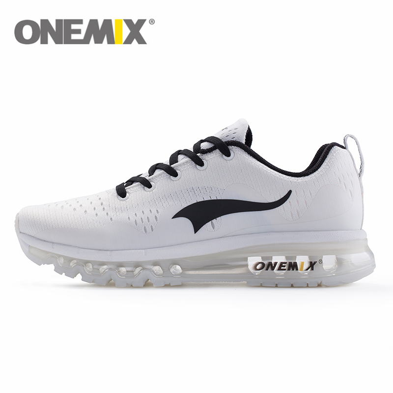 2017 Original onemix men Waves Running Shoes 2017 Women Air Sneakers Breathable Mesh Air Cushion Comfortable Sports Fitness Shoe apple summer new arrival men s light mesh sports running shoes breathable fly knit leisure comfortable slip on sneakers ap9001