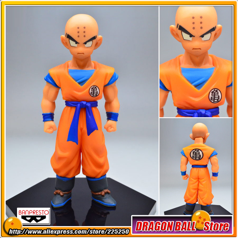"Japan Anime ""DRAGONBALL <font><b>Dragon</b></font> <font><b>Ball</b></font> <font><b>Z</b></font>"" Original <font><b>BANPRESTO</b></font> Chozousyu <font><b>Figure</b></font> Vol.3 - Klilyn / <font><b>Kuririn</b></font>"