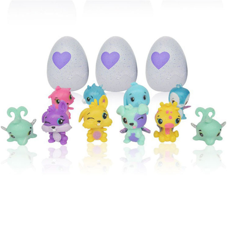 1pcs Animals Surprise Eggs Figure Dolls Cute Pet Toys Surprise Doll Toy For Children Birthday Gift