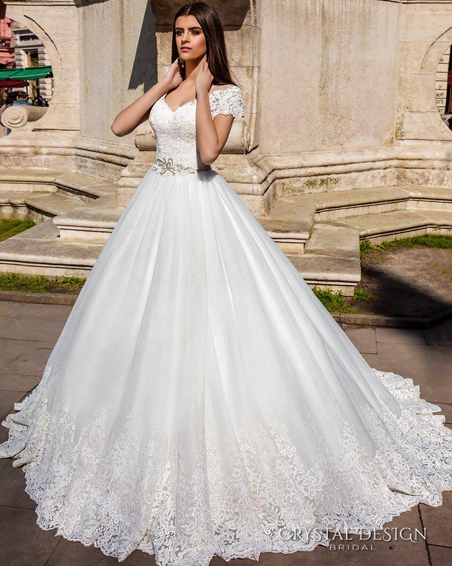 Vestido De Noiva Branco Bridal Gown Vintage Lace Ball Gown White ...