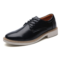 2017 Hot Sale Spring New Men Shoes Leather Oxford Shoes Black Business Men S Casual Shoes