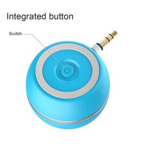 Image 4 - Przenośny głośnik A5 minikomputer głośniki 3.5MM gniazdo audio MP3 WMA elegancki wierszyk Super mini głośnik na zewnątrz